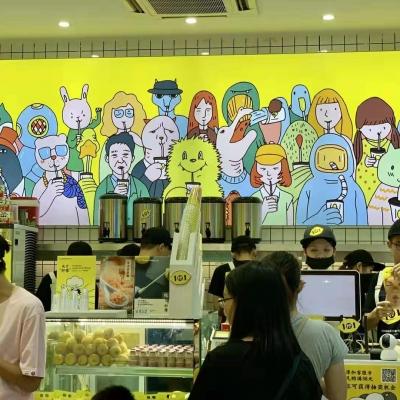 1柠1柠檬茶亮相广州国际加盟展